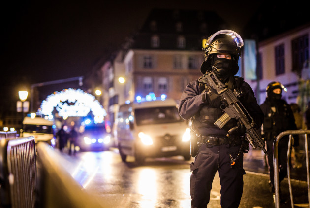 Shooting at Christmas Market in France