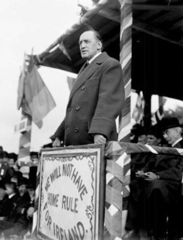 Sir Edward Carson/Anti-Home rule