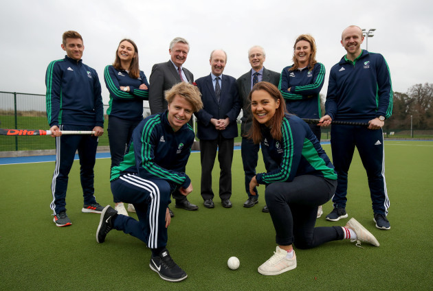 Announcement Of New Pitch At Sport Ireland National Sports Campus