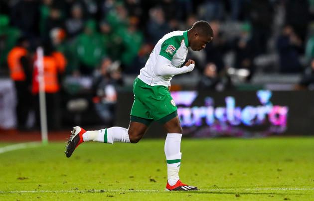 Michael Obafemi makes his debut