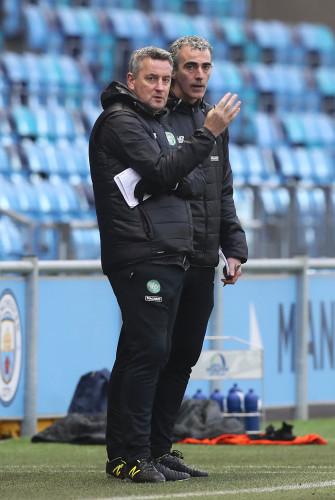 Manchester City U19 v Celtic U19 - UEFA Youth League - Group C - Academy Stadium