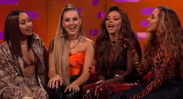 Graham Norton Asked Little Mix To Sing Wings In Japanese Last Night