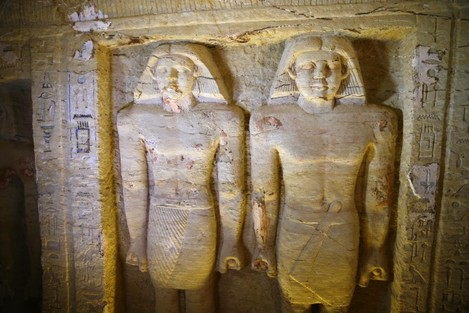 Tomb of Fifth Dynasty royal priest discovered in Egypt's Saqqara