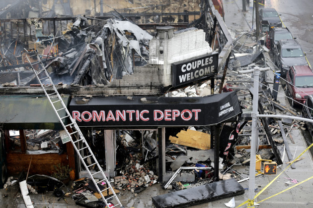 Stores Fire Collapse
