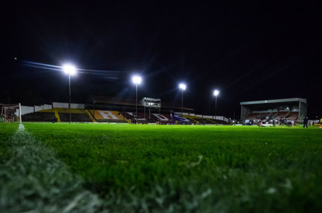 A general view of Tolka Park
