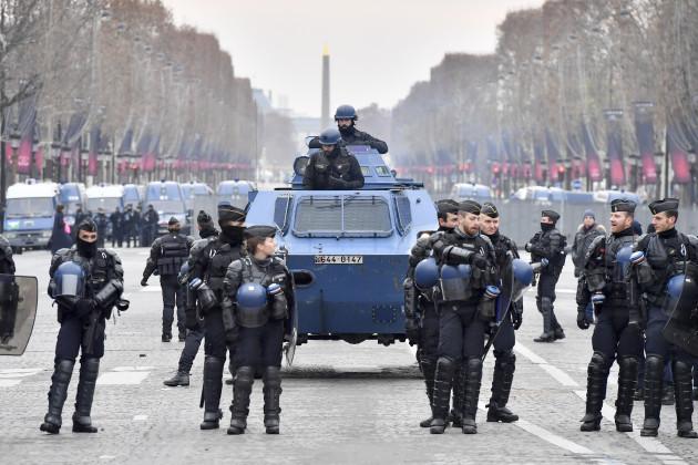 FRANCE-PARIS-YELLOW VESTS-PROTEST
