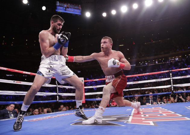 Alvarez Fielding Boxing