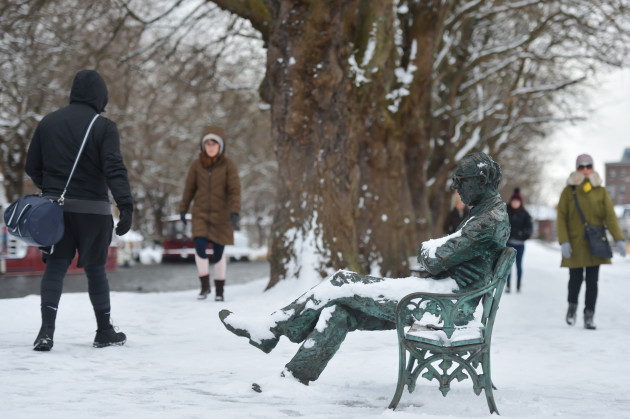 Ireland: Snow Storm named 'Beast from the East' hits Ireland