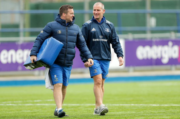 John Fogarty and Stuart Lancaster