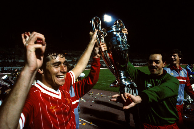 Soccer - European Cup Final - Liverpool v AS Roma - Stadio Olimpico