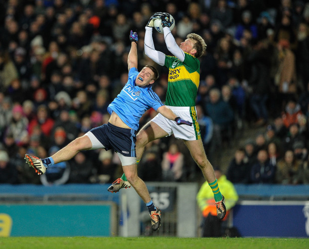 Donnchadh Walsh with Davy Byrne