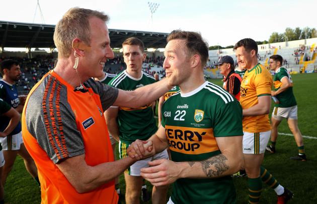 Darran O'Sullivan celebrates after the game
