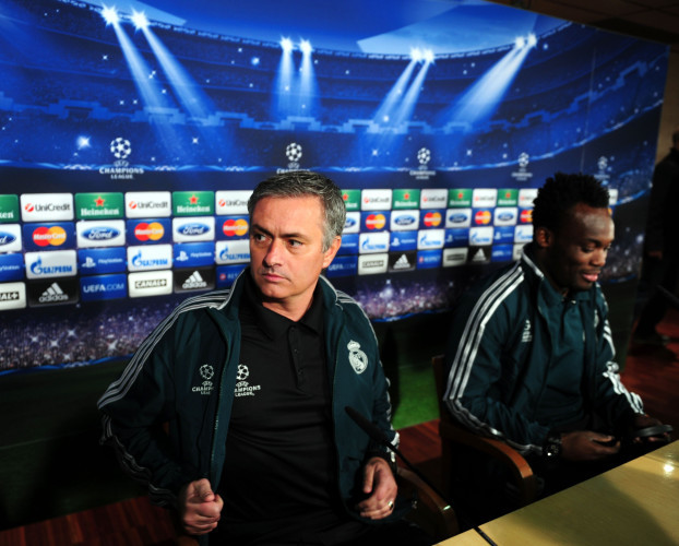 Soccer - UEFA Champions League - Round of Sixteen - Real Madrid v Manchester United - Real Madrid Press Conference - Santiago Bernabeu