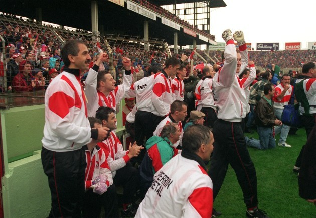 The Derry bench 1993