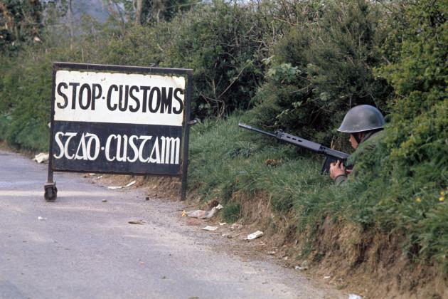 Customs Post - Swanlinbar, Ireland