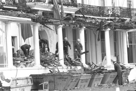 Crime - Terrorism - IRA Mainland Bombing Campaign - Grand Hotel - Brighton - 1984