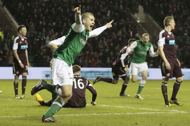 Soccer - Scottish Premiership - Hibernian v Heart of Midlothian - Easter Road