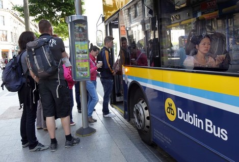 File photo THE NATIONAL TRANSPORT Authority is in the middle of redesigning DublinÕs bus network, and has released the proposed new routes today. The network is being redesigned in an attempt to make bus routes simpler for tourists to understand and more