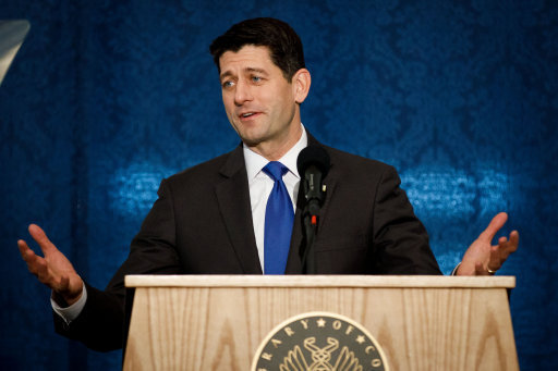 U.S.-WASHINGTON-PAUL RYAN-FAREWELL ADDRESS