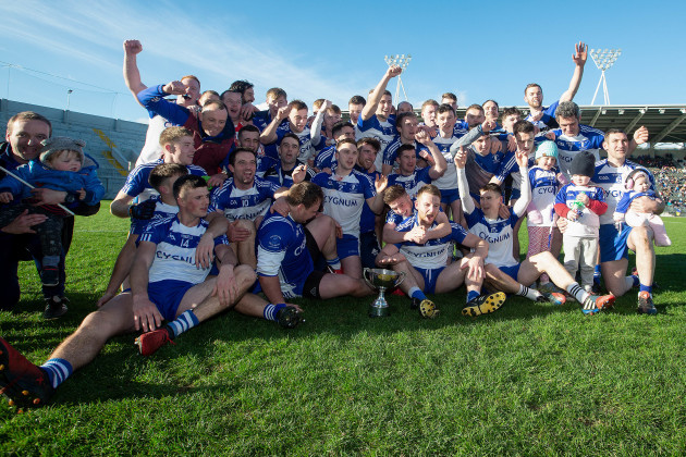 Cill na Martra players celebrate winning