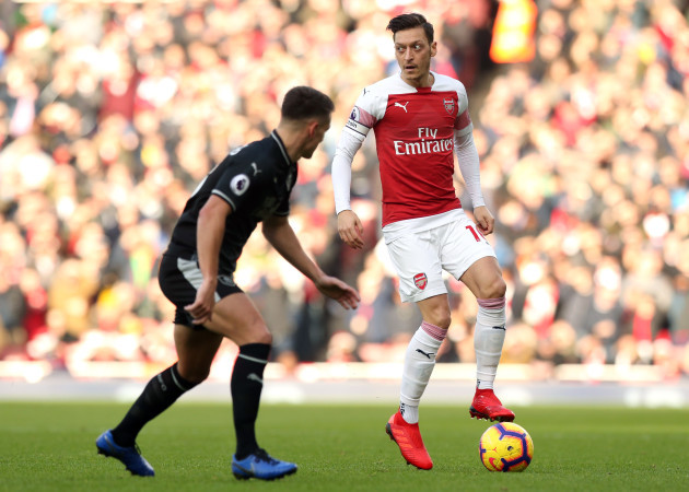 Arsenal v Burnley - Premier League - Emirates Stadium