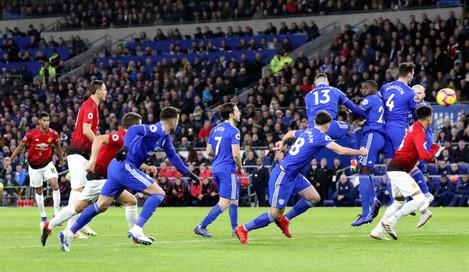 Cardiff City v Manchester United - Premier League - Cardiff City Stadium