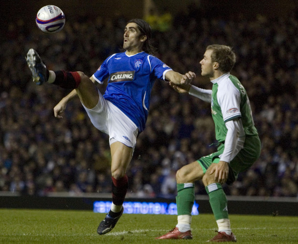 Soccer - Clydesdale Bank Scottish Premier League - Rangers v Hibernian - Ibrox
