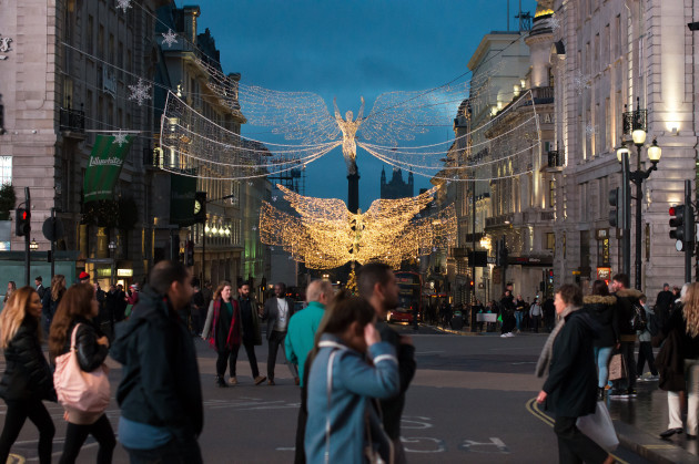 United Kingdom: Christmas Lights