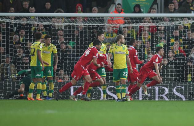 Norwich City v Nottingham Forest - Sky Bet Championship - Carrow Road