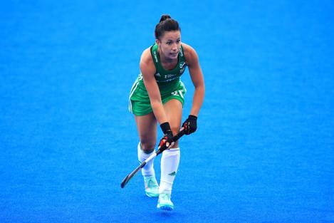 India v Ireland - Vitality Women's Hockey World Cup - Pool B - Lee Valley Hockey and Tennis Centre
