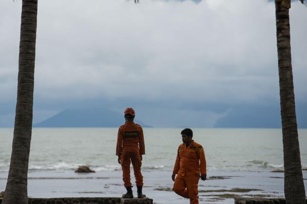 INDONESIA-BANTEN-VOLCANO ANAK KRAKATAU-ACTIVITY