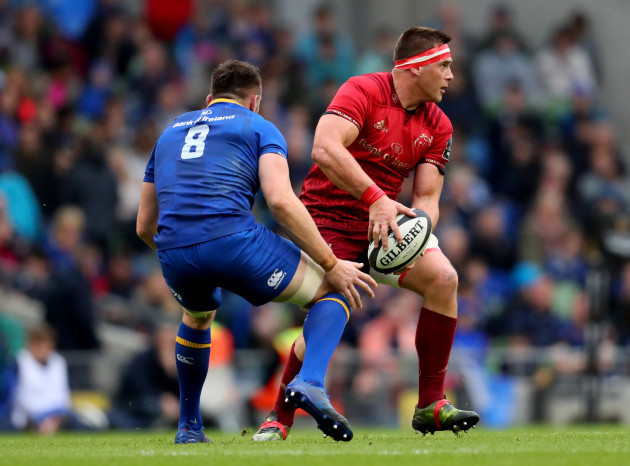 Jack Conan and CJ Stander
