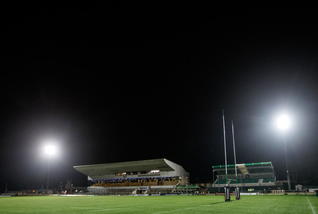 A view of the Sportsground