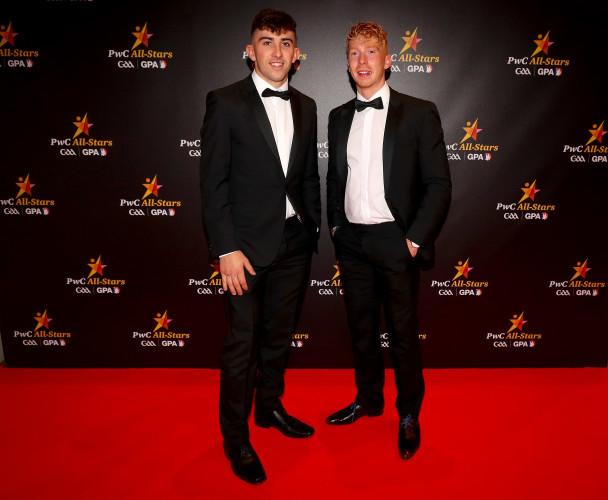 Aaron Gillane with Cian Lynch