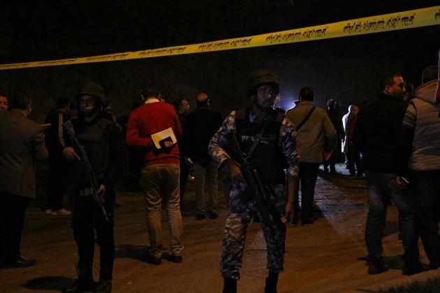 Bomb blast kills two tourists near pyramids in Egypt