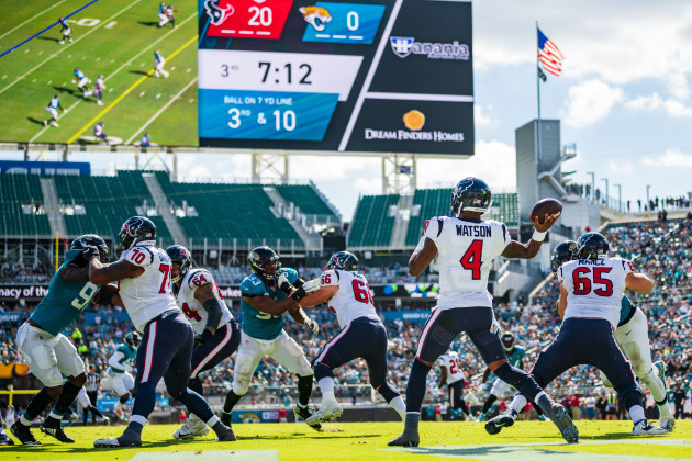 NFL 2018: Texans vs Jaguars OCT 21