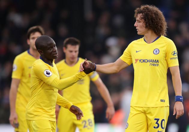 Crystal Palace v Chelsea - Premier League - Selhurst Park