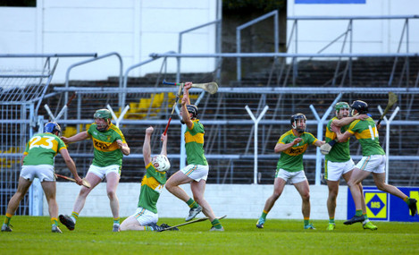 Clonoulty-Rossmore's players celebrate at the end of the game