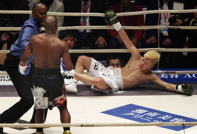 Japan Mayweather Nasukawa Boxing