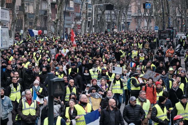 Yellow Vests Protest - Toulouse