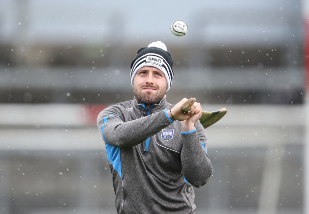 Noel Connors warming up