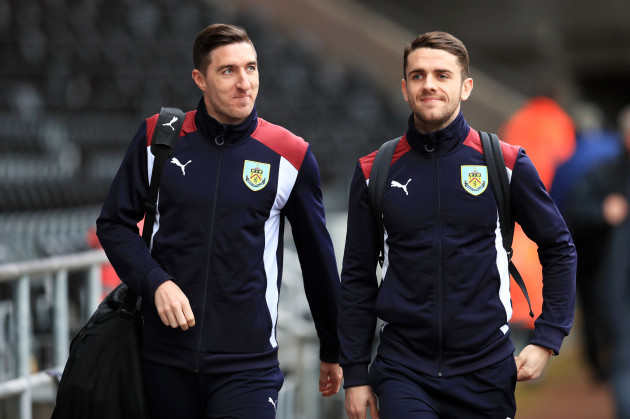 Update: Stephen Ward and Robbie Brady (file pic).