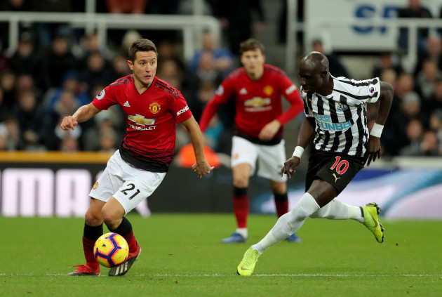Newcastle United v Manchester United - Premier League - St James' Park