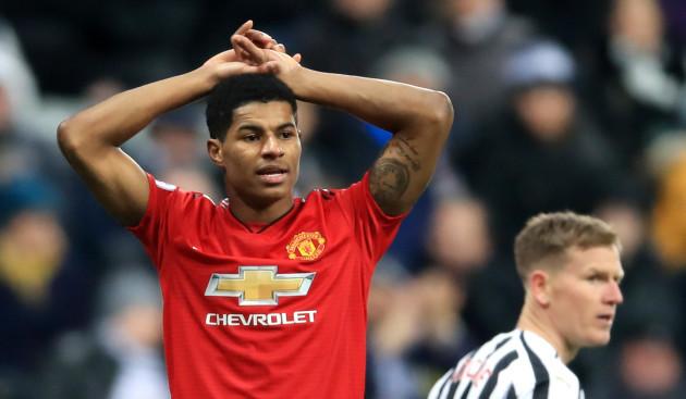 Newcastle United v Manchester United - Premier League - St James' Park