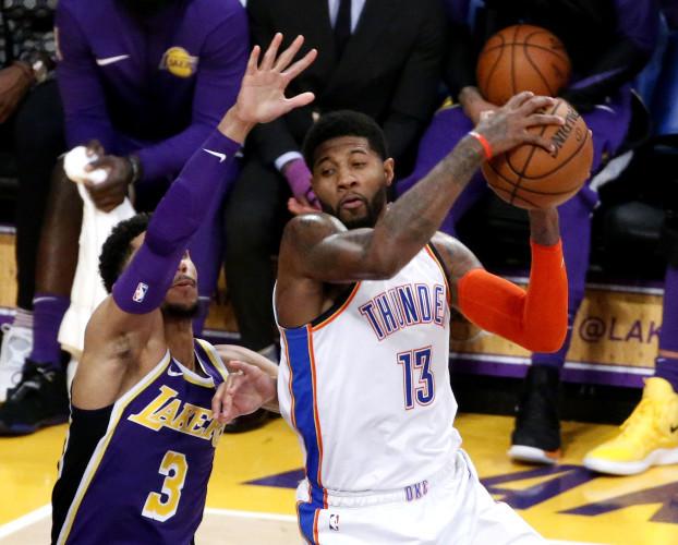 NBA 2019: Los Angeles Lakers vs Oklahoma City Thunder