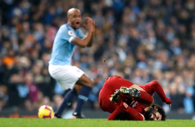Manchester City v Liverpool - Premier League - Etihad Stadium