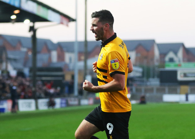 Newport County v Colchester United - Sky Bet League Two - Rodney Parade