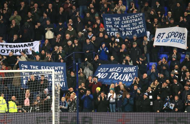 Tranmere Rovers v Tottenham Hotspur - Emirates FA Cup - Third Round - Prenton Park