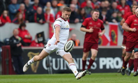 Ulster's Johnny McPhillips