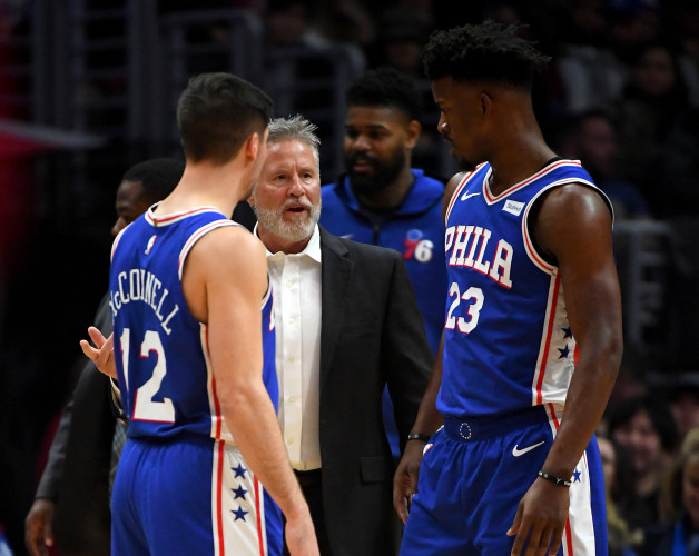 77bc0ce03 Jimmy Butler  aggressively  challenged 76ers head coach on his role in team  meeting